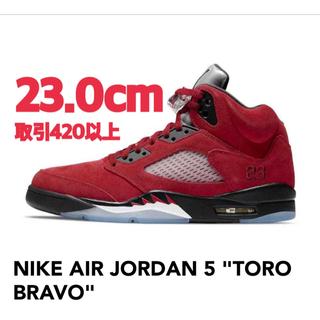 NIKE - NIKE AIR JORDAN 5 TORO BRAVO 23.0cm