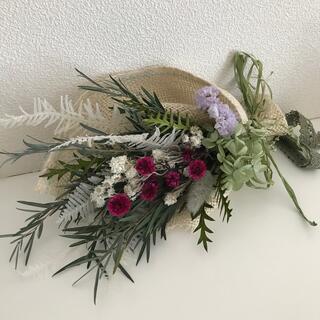 ドライフラワースワッグ 花束 ブーケ ギフト プレゼント(ドライフラワー)