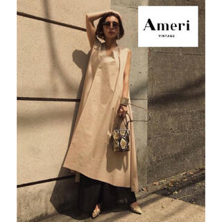 Ameri VINTAGE - 人気【AMERI Vintage】NS COVER DRESS ロングワンピース