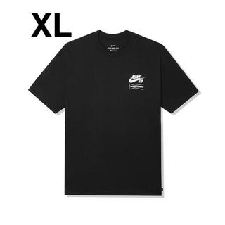 NIKE - wasted youth × NIKE sb black  tee XL