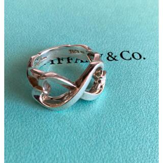 Tiffany & Co. - ティファニー ダブル ラビングハート リング 10.5号