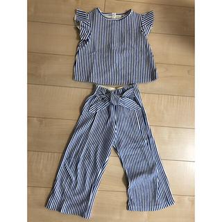 ZARA KIDS - zara girls セットアップ116cm 上着新品・パンツ使用済