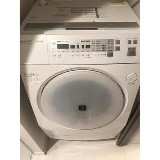 SHARP - ドラム式洗濯機(引越しのため期間限定4月中旬まで)