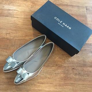 Cole Haan - 【未使用】COLE HAAN シルバーバレリーナシューズ
