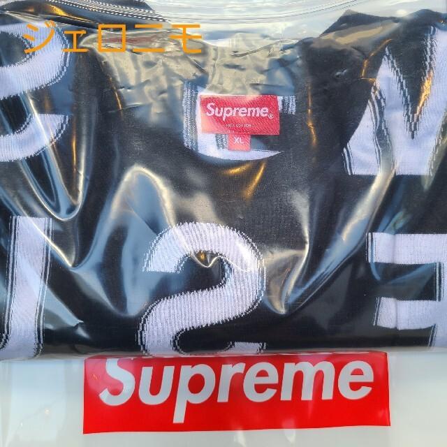 Supreme(シュプリーム)のSupreme Intarsia S/S Top black 黒 メンズのトップス(Tシャツ/カットソー(半袖/袖なし))の商品写真