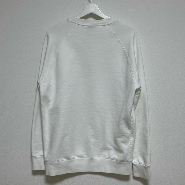 MAISON KITSUNE'(メゾンキツネ)のメゾンキツネ メンズスウェット ホワイト メンズのトップス(スウェット)の商品写真