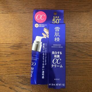 コーセー(KOSE)の★ma-ma様専用★雪肌精 ホワイト CCクリーム 02 (CCクリーム)