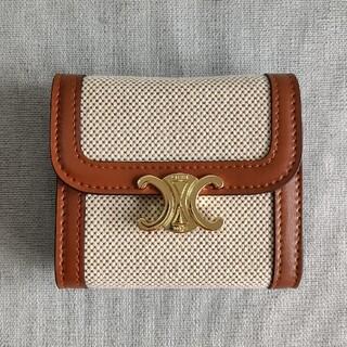 celine - ❀超美品❀三つ折り 財布 celine 小銭入れ