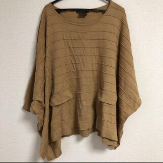 トラッゾドンナ(TORRAZZO DONNA)のドルマンニット 五分袖 半袖(ニット/セーター)