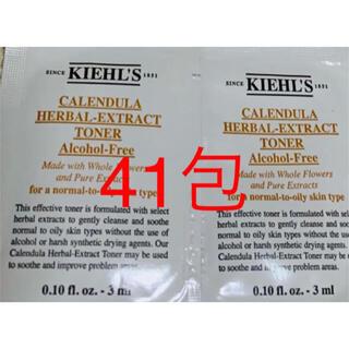 Kiehl's - キールズ ハーバル トナー CL アルコールフリー 化粧水 3ml×41包
