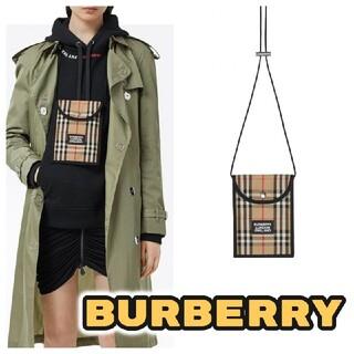 BURBERRY - 新品 BURBERRY バーバリー スマホケース 財布 コインケース ショルダー
