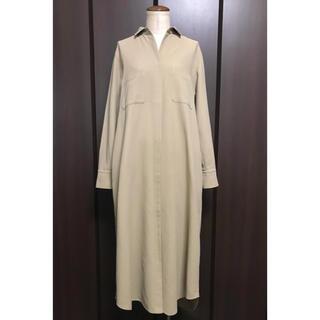 DEUXIEME CLASSE - 美品☆定価約3,9万ドゥーズィエムクラス Pan シャツワンピース ドレス