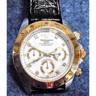 テクノス(TECHNOS)のアンティーク★【テクノス腕時計 】TECHNOS TGM640 電池なし(レザーベルト)