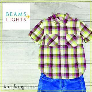 ビームスボーイ(BEAMS BOY)のBEAMS LIGHTS ビームスライツのニットカーディガン/フリー(Tシャツ(半袖/袖なし))