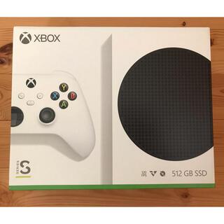 エックスボックス(Xbox)のXboxS 新品未開封(家庭用ゲーム機本体)
