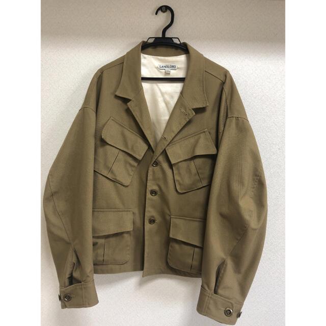 ALLEGE(アレッジ)のKIDFRESINO 着用 LANDLORD ミリタリージャケット メンズのジャケット/アウター(ミリタリージャケット)の商品写真