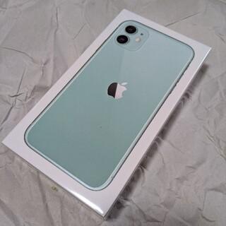 iPhone - docomo iPhone11 64GB グリーン simフリー 新品未開封品