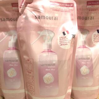 サムライ(SAMOURAI)のサムライウーマンファブリックミスト  ホワイトローズの香り 3つセット(日用品/生活雑貨)