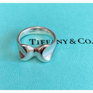 Tiffany & Co. - ティファニー エルサペレッティ リボン リング 12号 ヴィンテージ