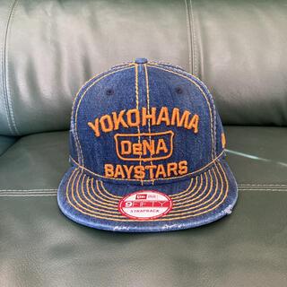 ニューエラー(NEW ERA)の横浜ベイスターズ ニューエラ デニムキャップ 帽子(応援グッズ)