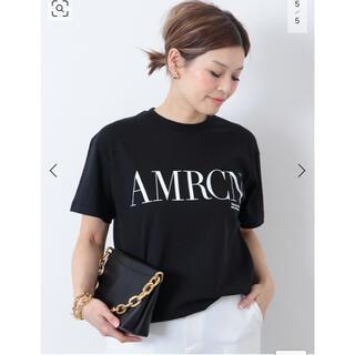 DEUXIEME CLASSE - 【AMERICANA/アメリカーナ】 AMRCN Tシャツ