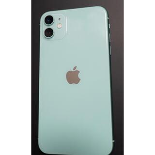Apple - iPhone11 グリーン 128㎇  SIMロック解除済み