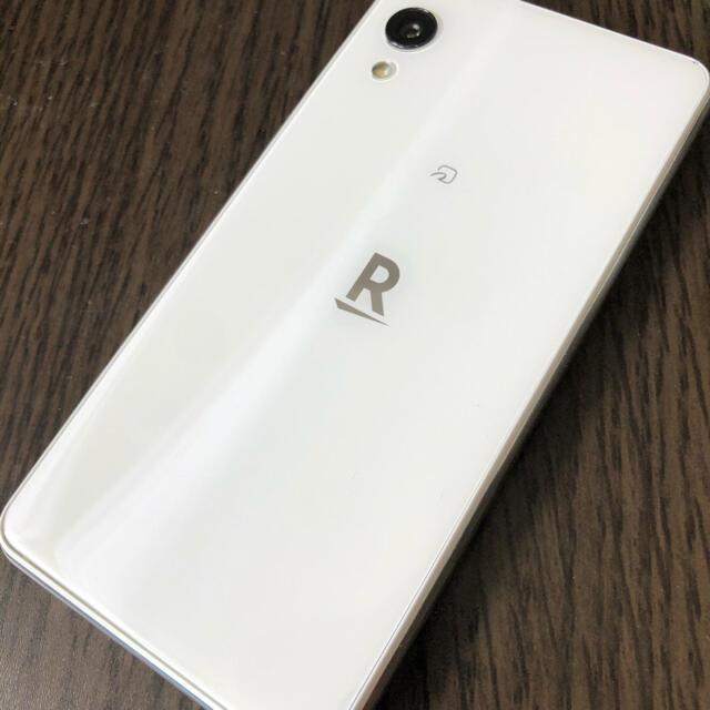 Rakuten(ラクテン)の楽天ミニ 本体 ホワイト スマホ/家電/カメラのスマートフォン/携帯電話(スマートフォン本体)の商品写真