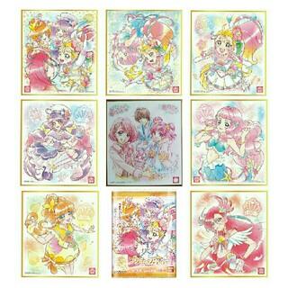 BANDAI - プリキュア色紙ART4 トロピカル~ジュ!プリキュア 全7種+劇場配布色紙セット