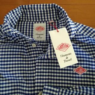 DANTON - 最終値下げ新品たぐありダントンギンガムのシャツ、購入したばかり