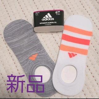 adidas - 【新品】adidas ソックス 2足組