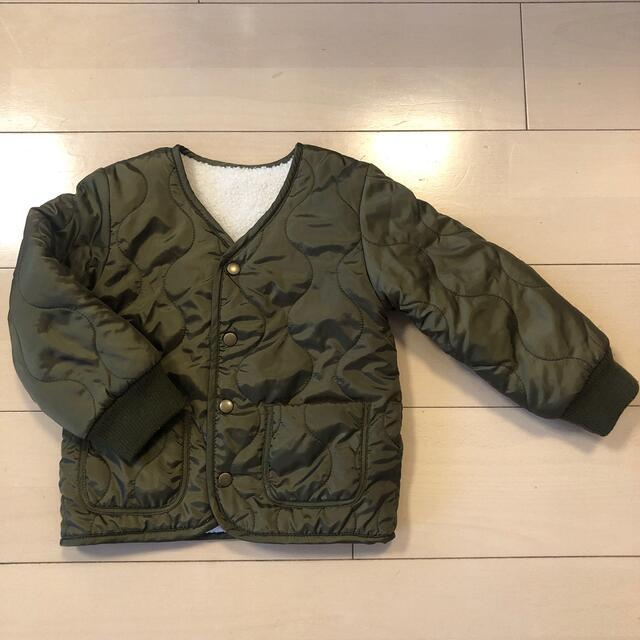 しまむら(シマムラ)の*しまむら*リバーシブルブルゾン キッズ/ベビー/マタニティのキッズ服女の子用(90cm~)(ジャケット/上着)の商品写真