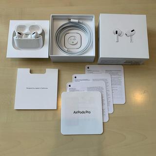 Apple - Apple AirPods Pro 正規品【両イヤホン本体美品】