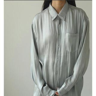 TODAYFUL - クレープサテンオーバーシャツ