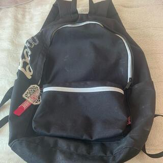 バービー(Barbie)のバービー リュック 通学リュック 黒リュック 鞄 キーホルダー ロゴ 大容量(リュック/バックパック)