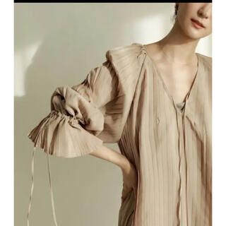 TODAYFUL - louren all pleats volume blouse