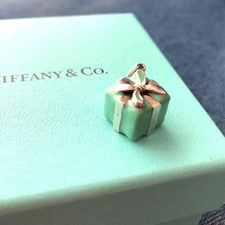 Tiffany & Co. - 値下げ! 人気☺︎ Tiffany ブルーボックス チャーム ネックレス