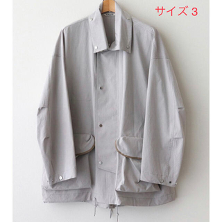 AURALEE 21SS WASHED FINX RIPSTOP BLOUSON