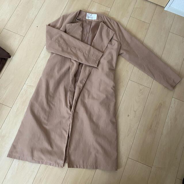 NICE CLAUP(ナイスクラップ)のトレンチコート レディースのジャケット/アウター(トレンチコート)の商品写真