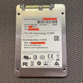 Lite-On SSD 2.5インチSATA 256GB 使用時間449h(PCパーツ)