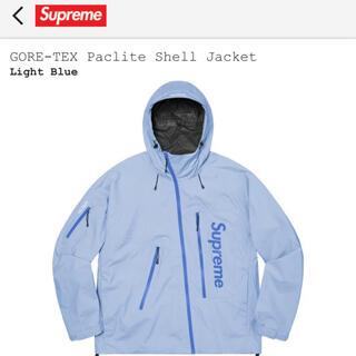 Supreme - Supreme GORE-TEX Shall Jacket ライトブルー