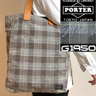 PORTER - 希少!PORTER ポーター×ギャラリー1950 限定コラボ トートバッグ