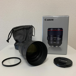 Canon - Canon EF85mm F1.4L IS USM 保護フィルター付