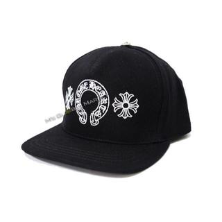 Chrome Hearts - 新品 クロムハーツ 帽子 ブラック ホースシュー CHプラス