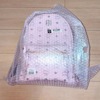 MCM - [24時間以内発送]MCMリュック ピンク Sサイズ