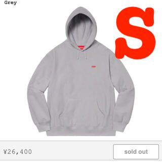 Supreme - Small Box Hooded Sweatshirt grey サイズS