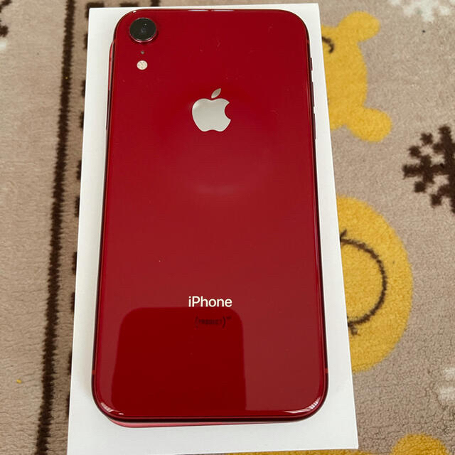 iPhone(アイフォーン)のiPhone XR 64GB RED スマホ/家電/カメラのスマートフォン/携帯電話(スマートフォン本体)の商品写真