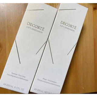 COSME DECORTE - コスメデコルテ リフトディメンション 化粧水&乳液