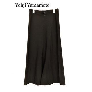 Yohji Yamamoto - 16ss yohji yamamoto シワギャバキュロット ワイドパンツ