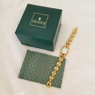 Gucci - GUCCI腕時計ゴールド1800L
