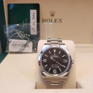 ROLEX - 新ギャラ 白タグ付き ロレックス エクスプローラー 214270